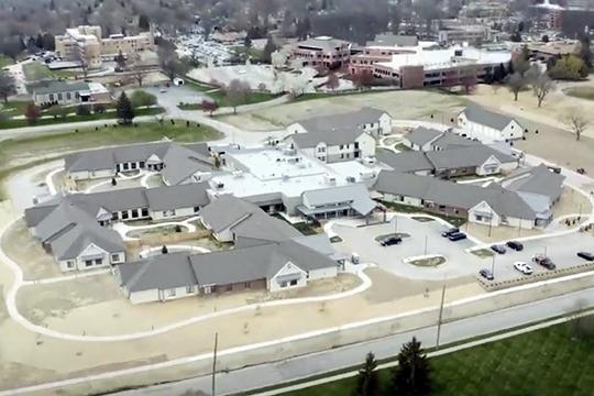 Lengacher Bros Byron Health Center drone photo 3 web