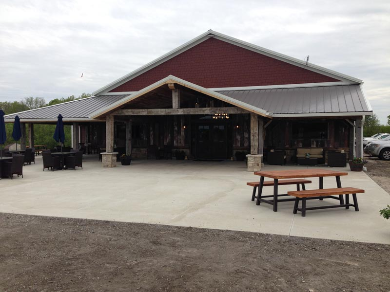 Lengacher Bros. Helps Refurbish Barn for New Winery